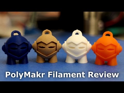 3D Printer - Hi Quality PolyMakr Filament Review