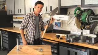 How to Build Tool Racks in Garages : Home Storage & Organizing
