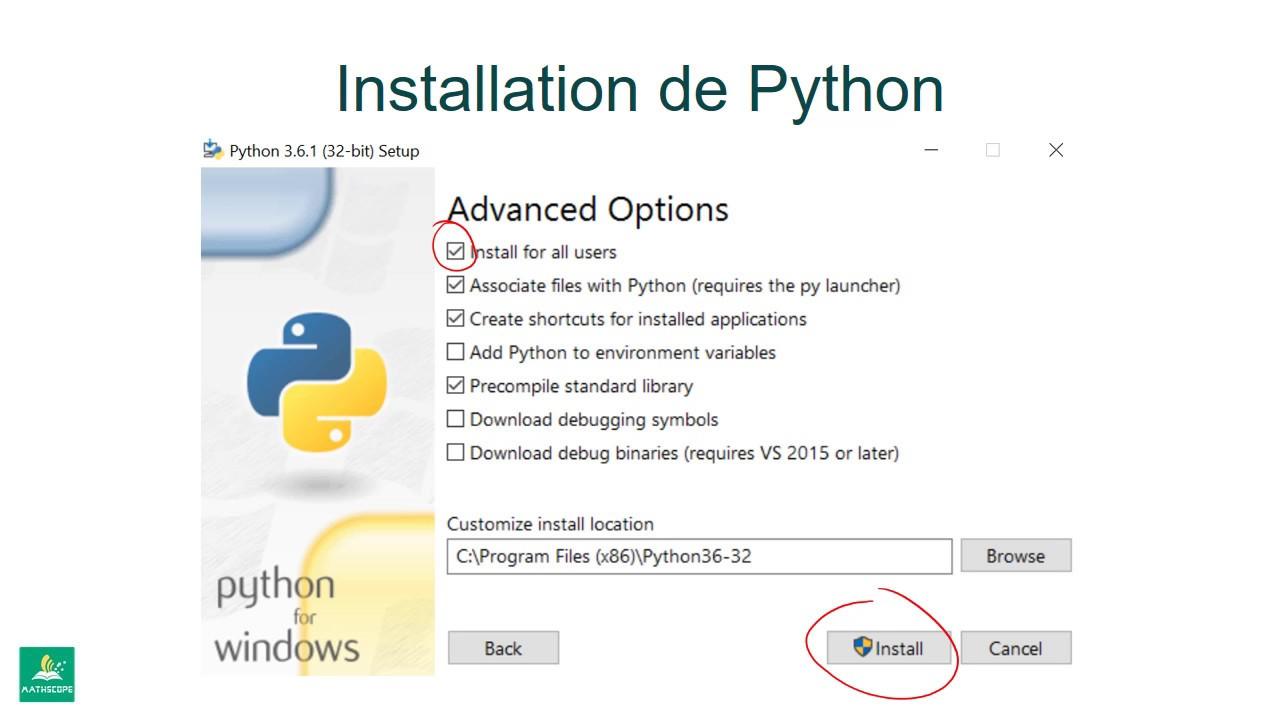 Installer Python IDLE
