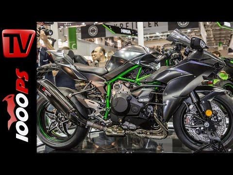 Kawasaki H2 Carbon - Z1000SX 2017 - Neuerungen im Überblick
