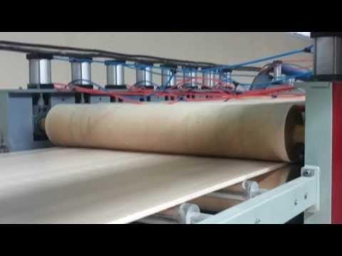 Lebanon customer  PVC foam board machine from Qingdao Tongsan/Hegu Company