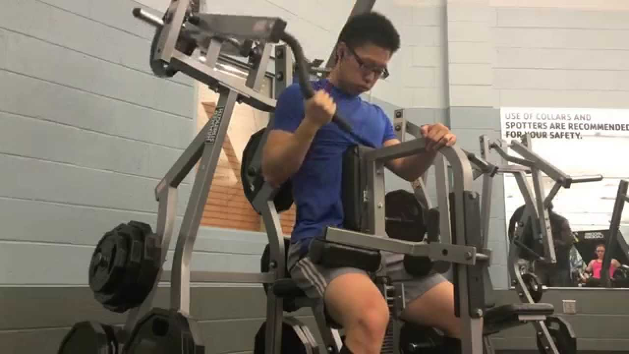 動作教學: 闊背肌下拉+劃船 - YouTube