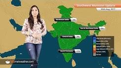 Monsoon Forecast for Aug 27: Heavy rain in Gujarat, coastal Maharashtra, Madhya Pradesh, UP