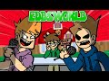 Friday Night Funkin' But It is EddsWorld ! Christmas Demolition Song