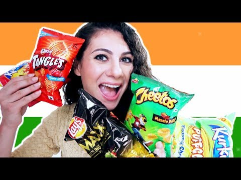 INDIAN SAVOURY SNACKS TASTE TEST PT. 2  | TRAVEL VLOG IV
