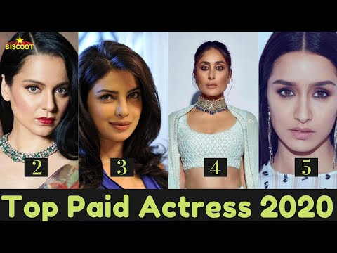 Top Paid Actress Of Bollywood In 2020!