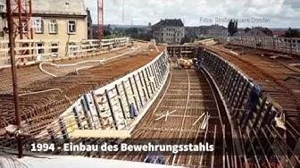 Hochstraße Löbtau: Bau und Sanierung