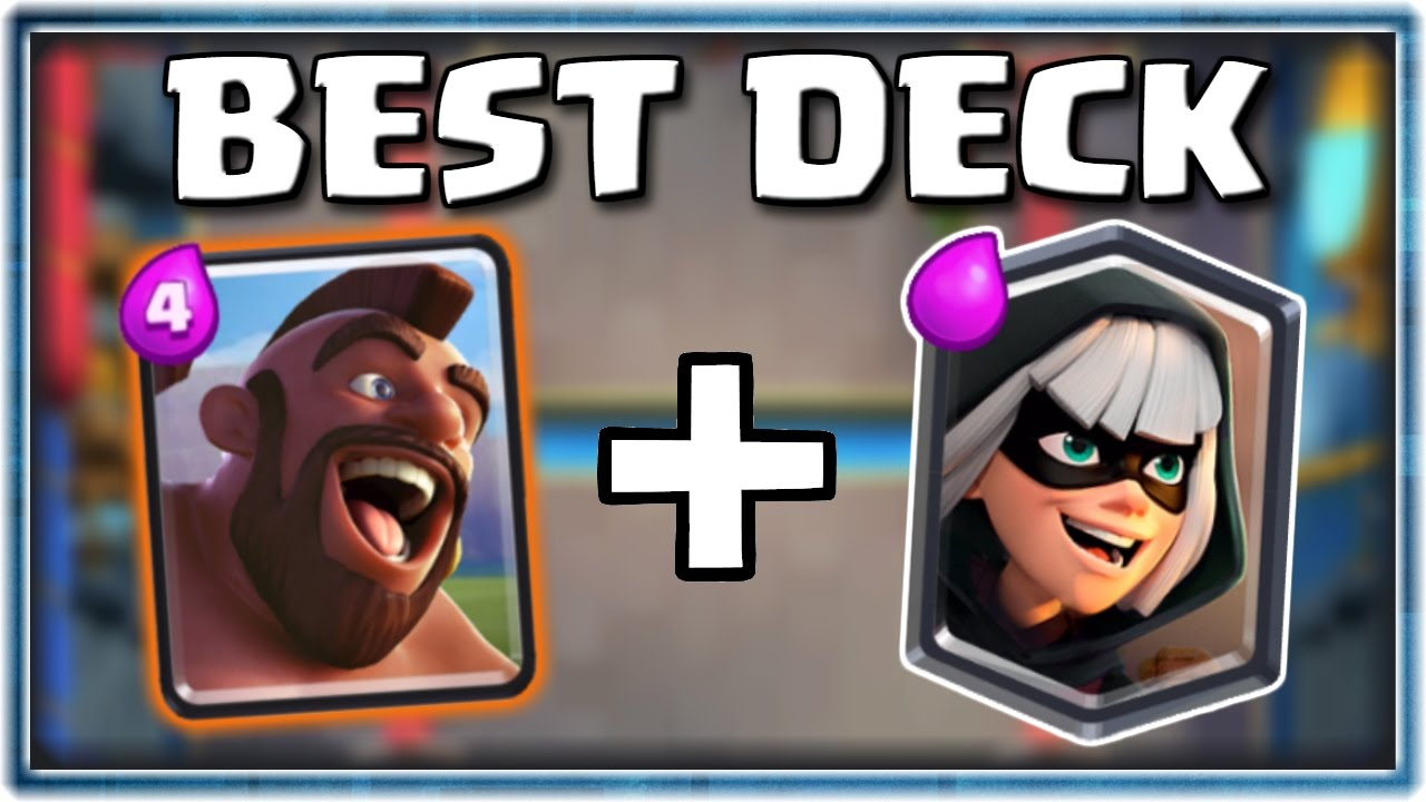 The Best Bandit Deck In Clash Royale Hog Rider Bandit Deck Clash Royale Legendary Arena 11 Youtube