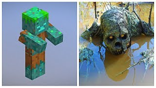 MINECRAFT: CHARACTERS IN REAL LIFE (mobs, animals, items)