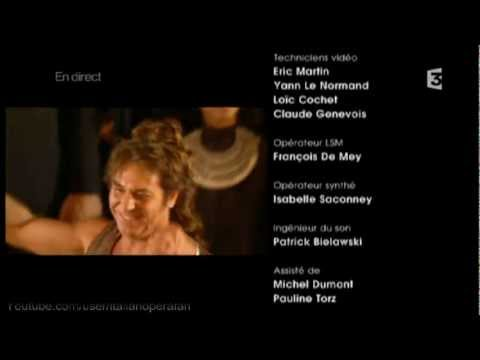 Roberto Alagna - Michel Plasson - Salut Final - Nessun dorma - Puccin - Turandot - 2012
