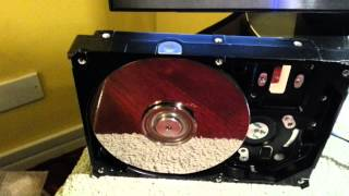 Running a Hard disk at 22000 RPM
