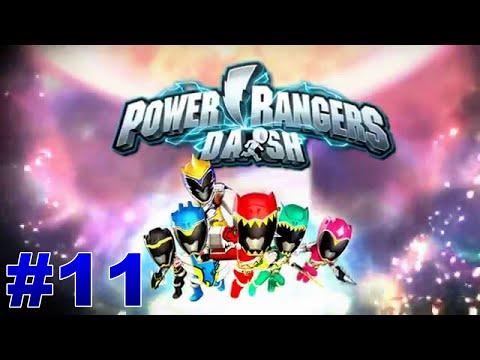 Let's Play Power Rangers Dash Part 11 Power Ranger Exchange