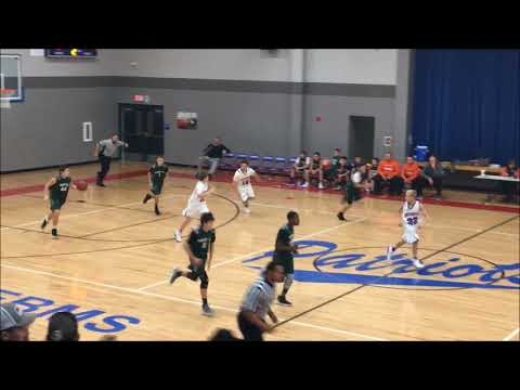 7th Grade Basketball:  Hart County at Allen County Scottsville, Nov. 11, 2017