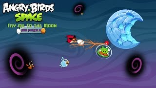 """Angry Birds Space """"Fry me to the Moon & Portals"""" │JuanPiggysPowerPoint"""