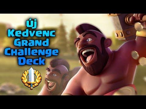 Új Kedvenc Deckem Van Grand Challengehez! | Clash Royale Magyarul