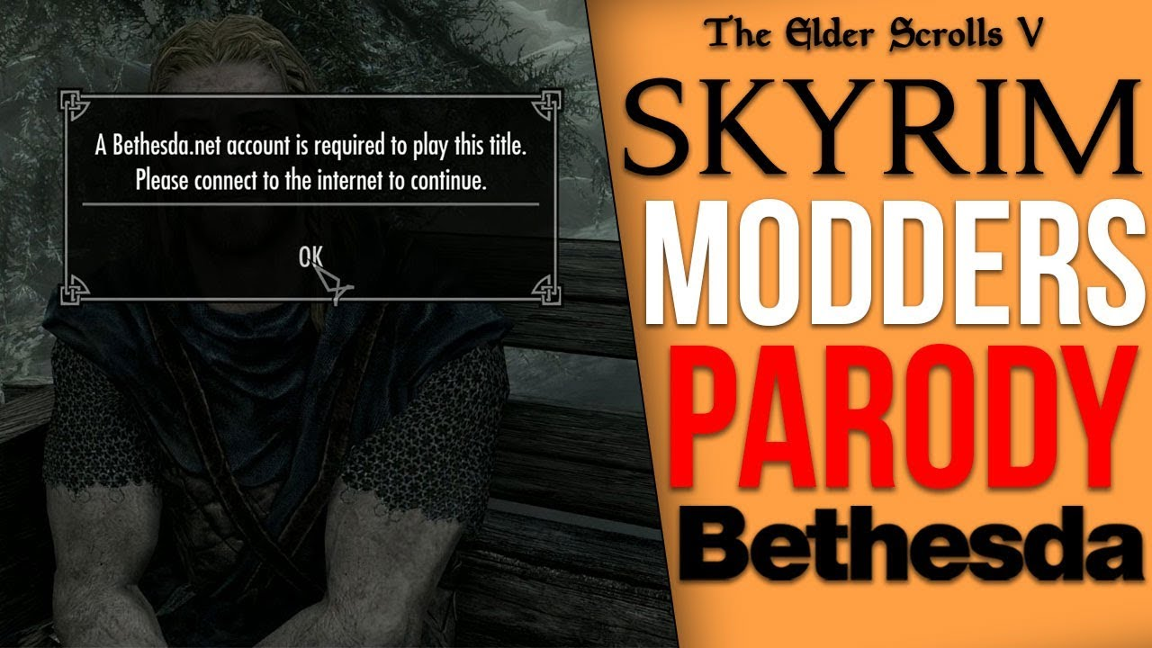 Modders Are Already Parodying Bethesda's Recent Doom Controversy in Skyrim thumbnail