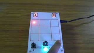 Electronic Tic-Tac-Toe with RGB LEDs
