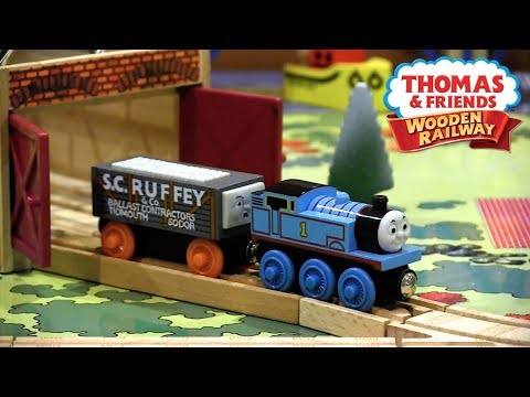 A Day at The Works Set Review | Thomas Wooden Railway Discussion #71