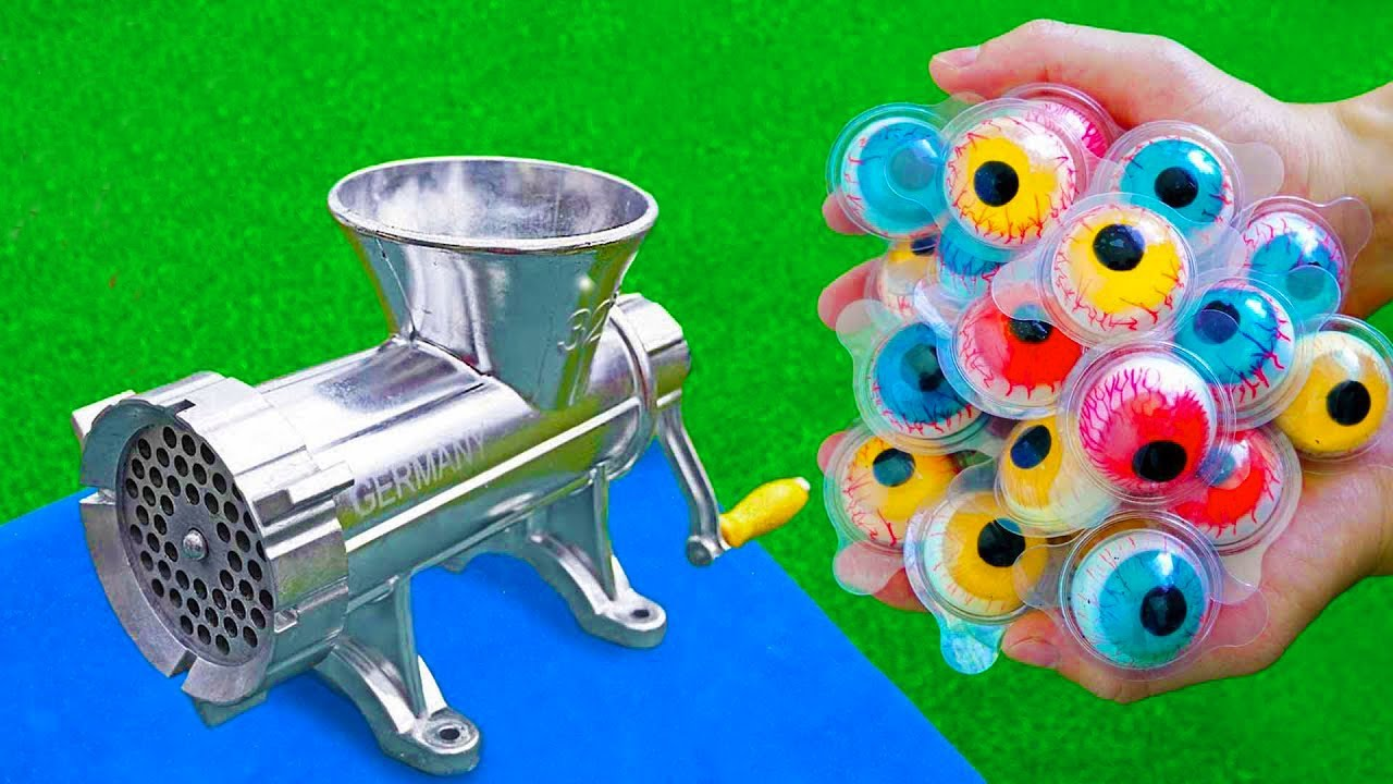 EXPERIMENT EYE CANDY VS MEAT GRINDER