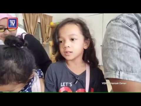 Hana Aisyah suka 'speaking'..