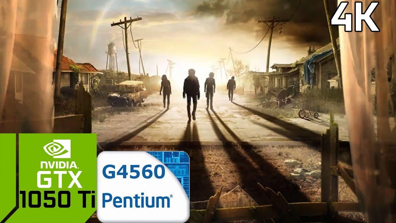 State of Decay 2 4K [PC] GTX 1050 Ti 4GB GDDR5 & Intel Pentium G4560