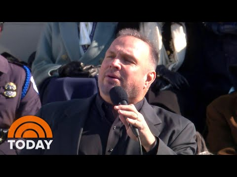 Garth Brooks' Inaugural Performance Of 'Amazing Grace' Stirs Controversy | TODAY