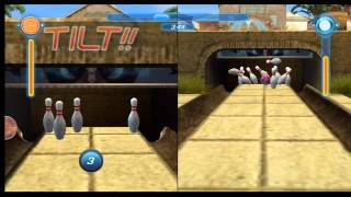 Alien Monster Bowling League Wii Gameplay