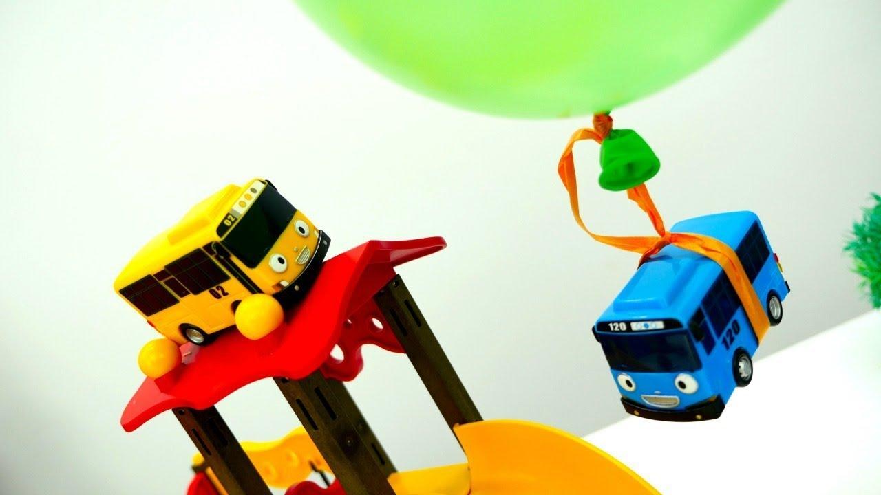 Tayo der bus hat geburtstag spielzeugautos für kinder