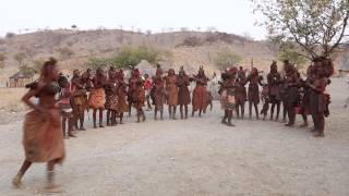 Himba Tribe Dancing, Namibia.