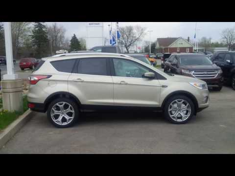 New Colour On 2017 Ford Escape Is White Gold...Take A Look