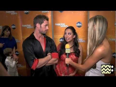 AfterBuzz TV Interviews William Levy and Cherye Burke @ DWTS May 21st, 2012