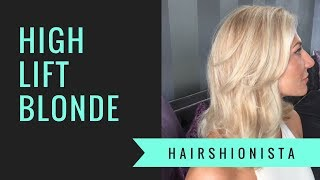 HIGHLIFT BLONDE- lightening dark roots with color | by HAIRSHIONISTA