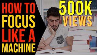 How To Study like a Machine With Maximum Focus | NEET PG AIIMS PGI JIPMER DNB