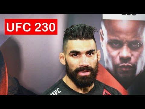 LYMAN GOOD POST FIGHT UFC 230 INTERVIEW