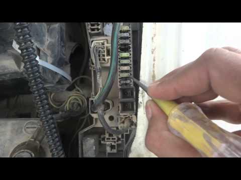 Car Headlight Low Beam And High Beam Electrical Repair. Car Repair