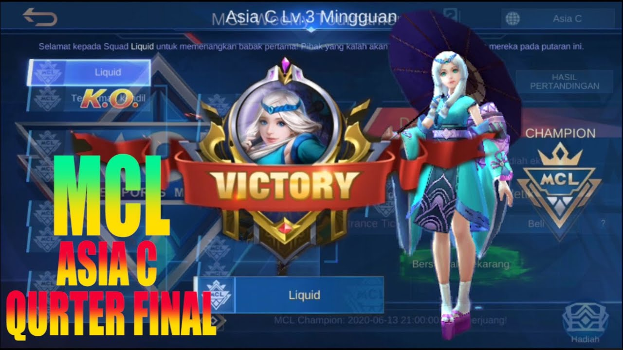 [MCL] Team.Liquid. vs Team.mas kendil. Mobile Legends