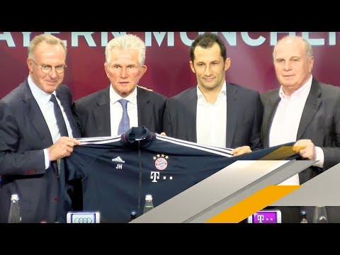 LIVE 🔴  | FC Bayern - Trainer-Vorstellung von Jupp Heynckes | SPORT1