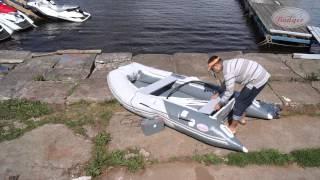 видео Надувное дно AirDeck (аирдек) или пол высокого давления в лодку ПВХ (пайол)