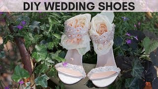 Custom Wedding Shoes | EASY DIY