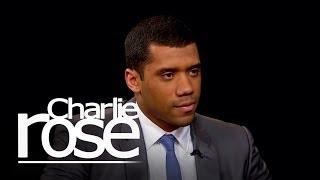 Seattle Seahawks quarterback Russell Wilson   Charlie Rose