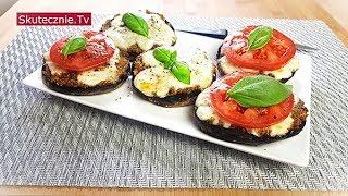 Faszerowane pieczarki z komosą, pastami i mozzarellą (pyszne!) :: Skutecznie.Tv