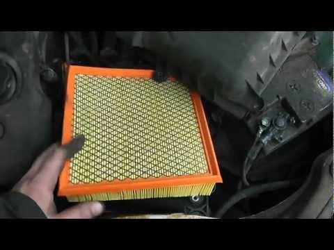 Как заменить воздушный фильтр салона на киа рио