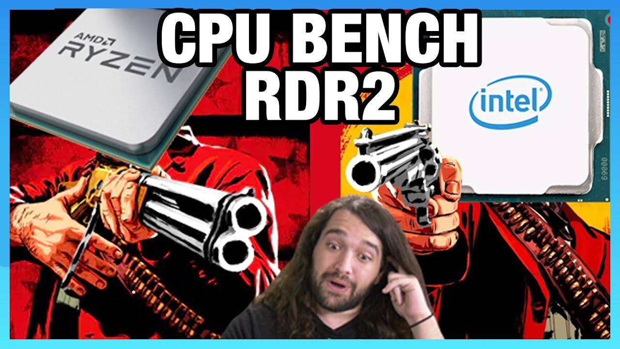 Red Dead Redemption 2 CPU Benchmark - Best CPUs for RDR2 on PC