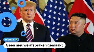 Ontmoeting tussen Trump en Kim Jong-un mislukt