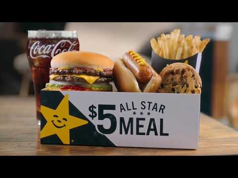 analysis of a hardees commercial 'all natural' ad not selling for carl's jr, firm 27 percent of survey respondents said they planned to visit a carl's jr or hardees location within.