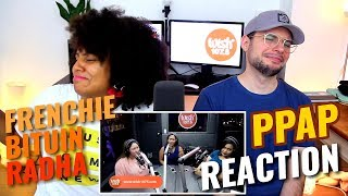Frenchie, Bituin & Radha - Pen Pineapple Apple Pen | LIVE on Wish 107.5 Bus | REACTION