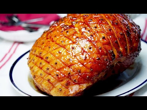 How To Make Christmas Honey Glazed Ham