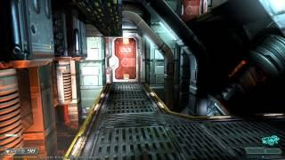 Doom 3 BFG Edition Walkthrough HD Level 10 Communications ( Veteran )