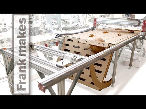 Vertical CNC Table and New Spoil Board