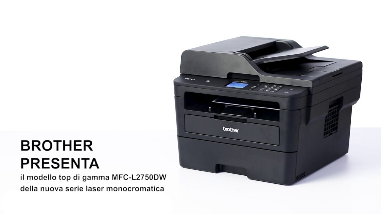 Multifunzione Brother 4 In 1 Monocromatica Laser A 34 Ppm Mfcl-2750dw Con Wifi · Desktops & All-in-ones